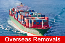 overseas removals